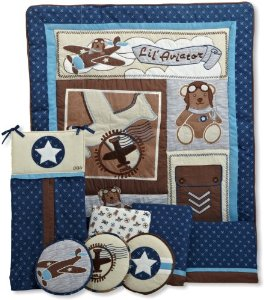 Aviator Crib Bedding Set