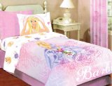 Barbie Roses Twin Comforter