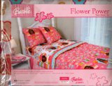 Barbie Twin Sheet Set ~ Flower Power