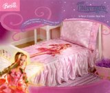 Barbie Fairytopia 4 Piece Toddler Bed Set