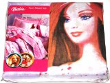 Barbie Doll Twin Sheet Set