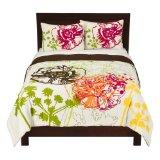 Home Floral Comforter Set - Cream Multicolor