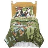 Pirates Kraken Comforters - Green