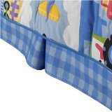 Olive Kids Trains, Planes, & Trucks Bedskirt