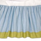 Kids Line Construction Zone Full Bed Skirt