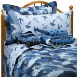 Instyle Night Vision Blue Comforter Set