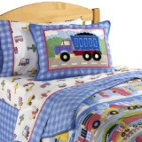 Dr. Seuss Kids Room Quilted Bedding, Twin Bed Quilt Set
