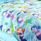Mermaids Twin Size Bed Comforter by Olive Kids