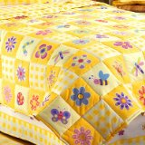 Flowerland Twin Size Bed Comforter by Olive Kids