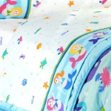 Mermaids Twin Size 100% Cotton Sheets by Olive Kids