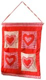 Snuggle Sac Country Heart 100% Cotton Wall Tidy