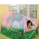 Pop-Up Princess Carriage Bed Tent