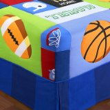 Game On Twin Cotton Comforter Hugger by Olive Kids