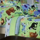 Olive Kids - Wild Animals Twin Size Comforter Hugger