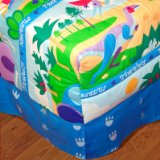 Dinosaurland Twin Cotton Comforter Hugger by Olive Kids