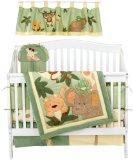 Nojo Jungle Babies 6 Piece Crib Bedding Set
