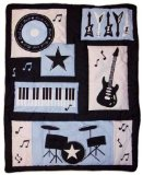Rock 'N Roll Comforter by Lambs & Ivy