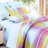 Blancho Bedding - [Golden Hawaii Sunlight] 100% Cotton Comforter  Cover/Duvet Cover Combo