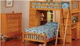 Maxwin International 4568-O Twin Bed Loft Bunkbed Desk Chest Bedroom Arch Headboard