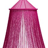 Fuschia String Bed Canopy