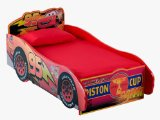 Disney Pixar Cars Wooden Toddler Bed