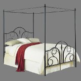 Contour Bed with Frame - Black