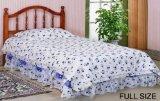 Oak Stain Full Head Board Bed Frame Set