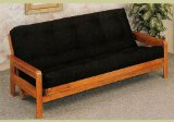 Oak Wooden Futon Sofa Bed Frame Wood Daybed Day Bed