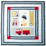 Fire Truck Quilt Queen 85 x 95 In