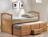 Modern San Marino Collection Full Size Bed/trundle W/dr