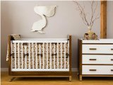 Silly Owl Crib Bedding Set by Litto Kids