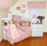 Babykins Ruffled Throne Eleven Piece Crib Bedding Set