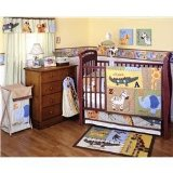T is for Tiger 6-Piece Baby Crib Bedding Set