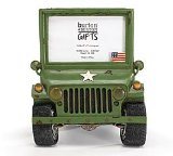 Military Army Truck/Jeep Photo/Picture Frame HeadLights Light Up Great Photo Frame