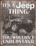Tin Sign Jeep - It's a Jeep Thing