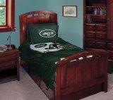 NFL FOOTBALL LOGO 5 PIECE FULL BEDDING SET Comforter, 2-Pillowcases, 2-Shams, NEW All Teams-Patriots Colts Cowboys ETC Boy