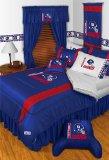NFL Denver Broncos Comforter Set 3 Pc Queen Full Bedding