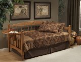 Dalton Daybed with Pop Up Trundle Unit - Hillsdale Furniture - 1393DBLHT