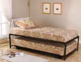 33'' STEEL BED FRAME & POP UP TRUNDLE B809