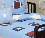 JoJo Designs 5-Piece Toddler Bedding Set - Playball Sports