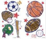 Crayola Sports Wall Stickers