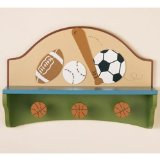 CoCaLo Sports Fan Shelf