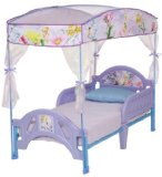Delta Disney Fairies Toddler Bed with Canopy