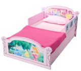 Disney Princess Wooden Toddler Bed