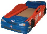 Stock Car Convertible Toddler Theme Bed