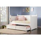 Trundle Bed White Semi Gloss Finish