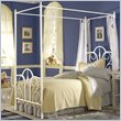 Fashion Bed Group Twin Contour Canopy Bed
