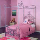 Princess Rebecca Twin Canopy Bed